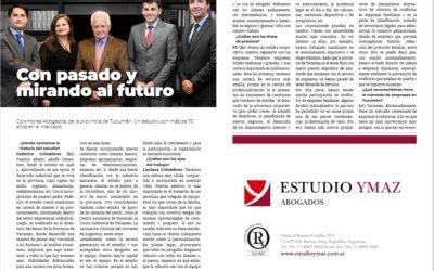 Entrevista en Revista AUNO Abogados.