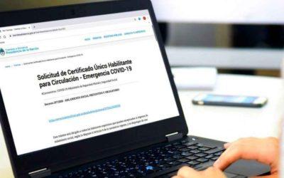 Nueva regulación del Certificado Unico para circular para los sujetos afectados a actividades exceptuadas de la cuarentena.