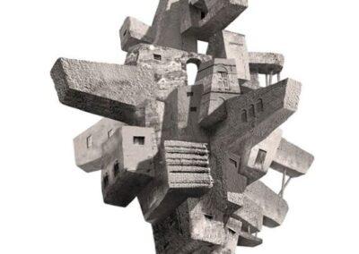 Estructura XI - 95 x 110 cm.