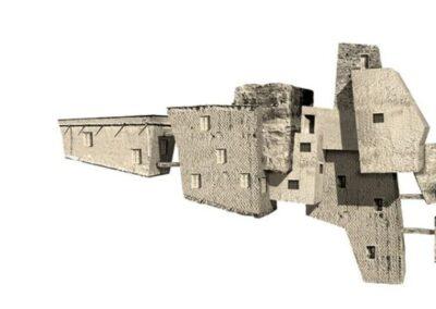 Estructura XIII - 160 x 60 cm.