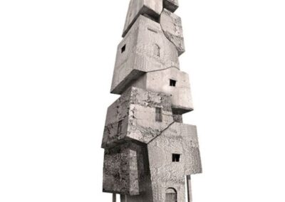 Torre 9 - Serie de 7 - 60 x 110 cm.