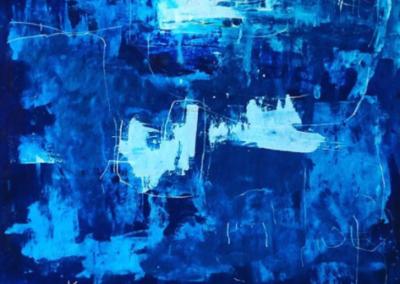 Sin Titulo, 2017 - Acrílico sobre bastidor - 106 x 177 cm
